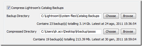 Lightroom plugin TPG LR Backup 05