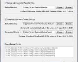 Controllo totale dei backup in Lightroom con LR Backup