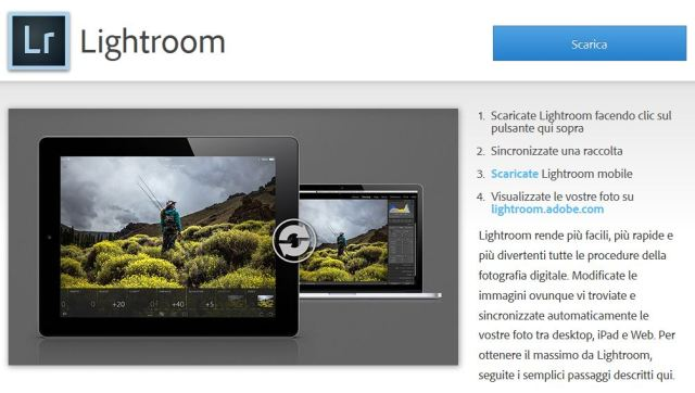 adobe lightroom mobile ipad tutorial guida gratis 03