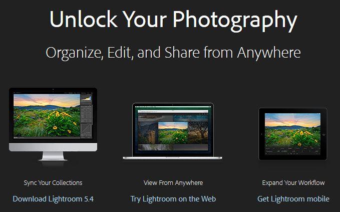 Lightroom per iPad è da oggi disponibile sull'AppStore e su web con Lightroom Mobile!