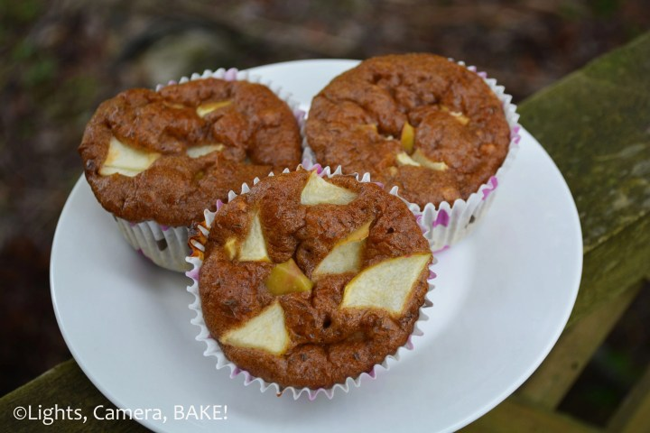 #Healthy Apple Muffins. Grain free, dairy free, refined sugar free and #Paleo. Though eating these you would never know! Click the photo for the recipe! #dessert
