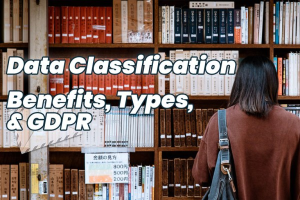 data classification benefits types GDPR