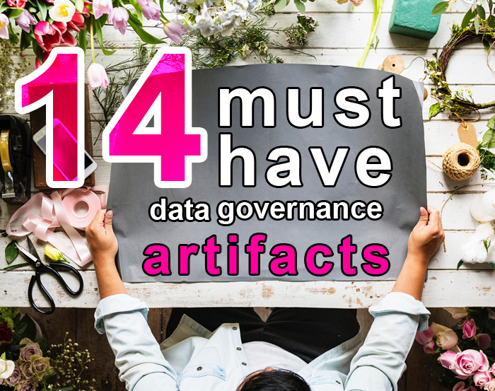 14 data governance artifacts