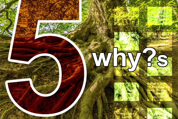 Data quality root cause analysis – 5 whys
