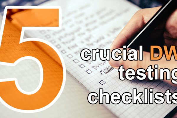 5 crucial data warehouse testing checklists