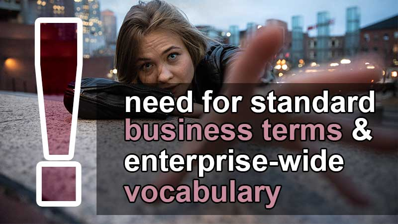 vital need for standard business terms