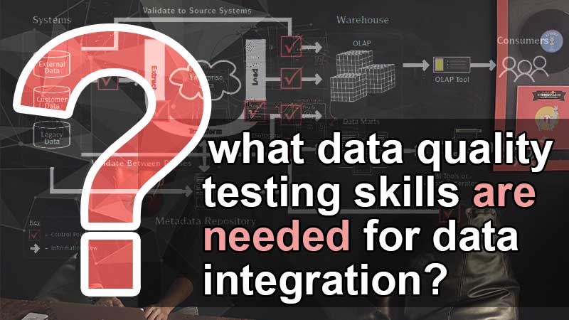 What data quality testing skills