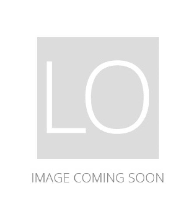 Uttermost 21130 Tuxedo 6 Light Single Shade Chandelier