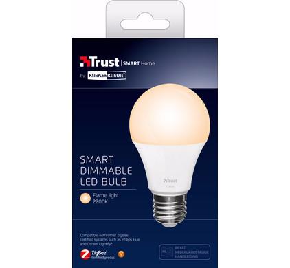 Trust zigbee smart ledlamp dimbare E27 warmwit