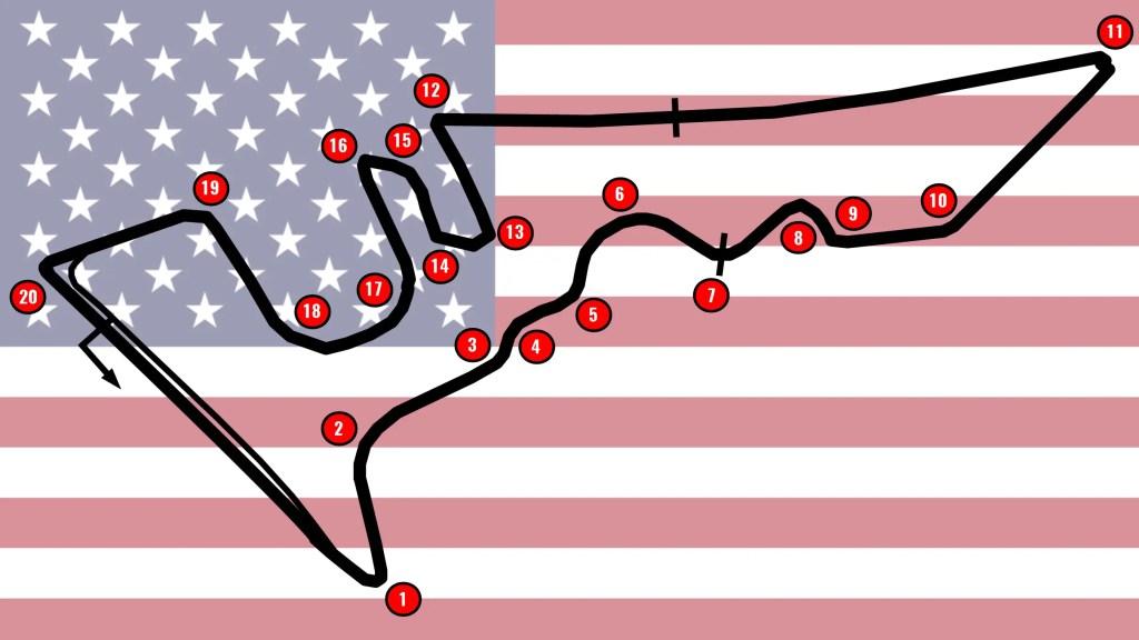 Cota Track Map