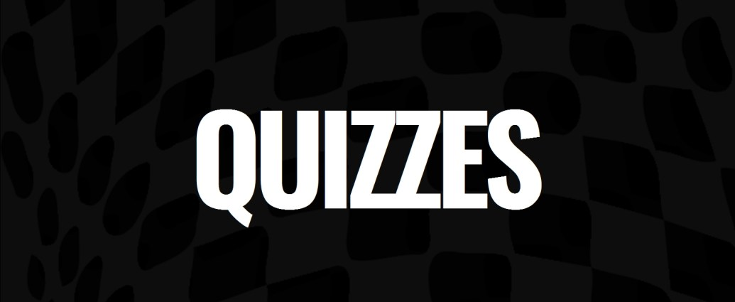 F1 quizzes