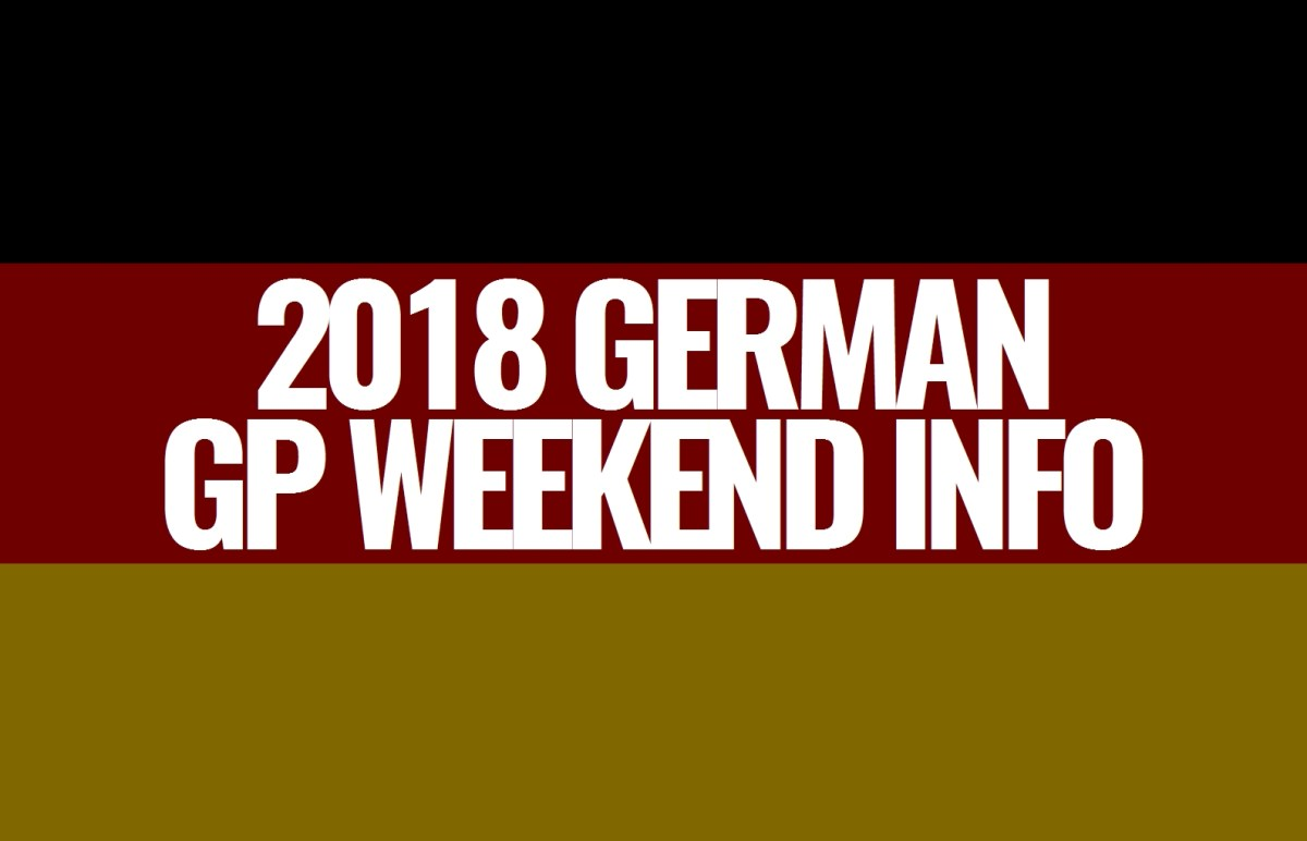 2018 German Grand Prix Weekend Information