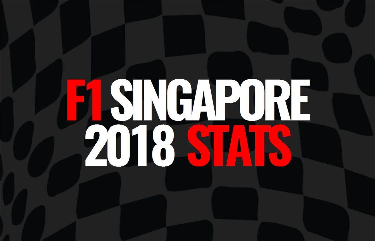 2018 Singapore Grand Prix: Post Race Statistics