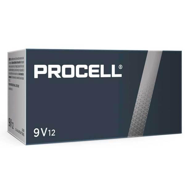 Procell 9v batteries pack of 12