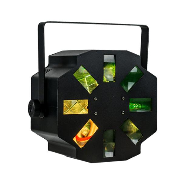 STORM - 1x 12W LED RGBW Rotating Multi Beam Effect