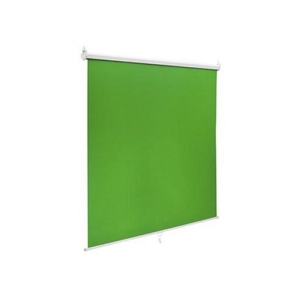 Brateck 92'' Wall-Mounted Green Screen Studio Backdrop 150×180cm