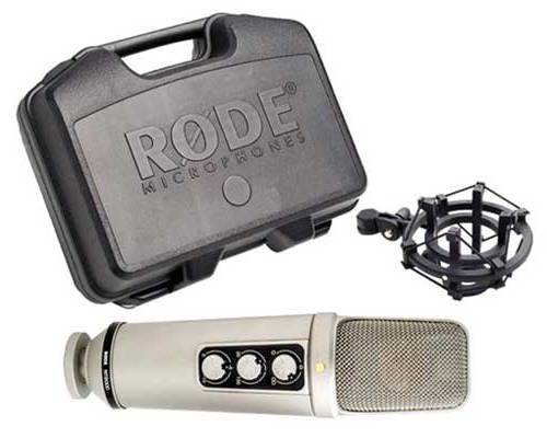 """Rode NT2000 Seamlessly Variable Dual 1"""" Condenser"""