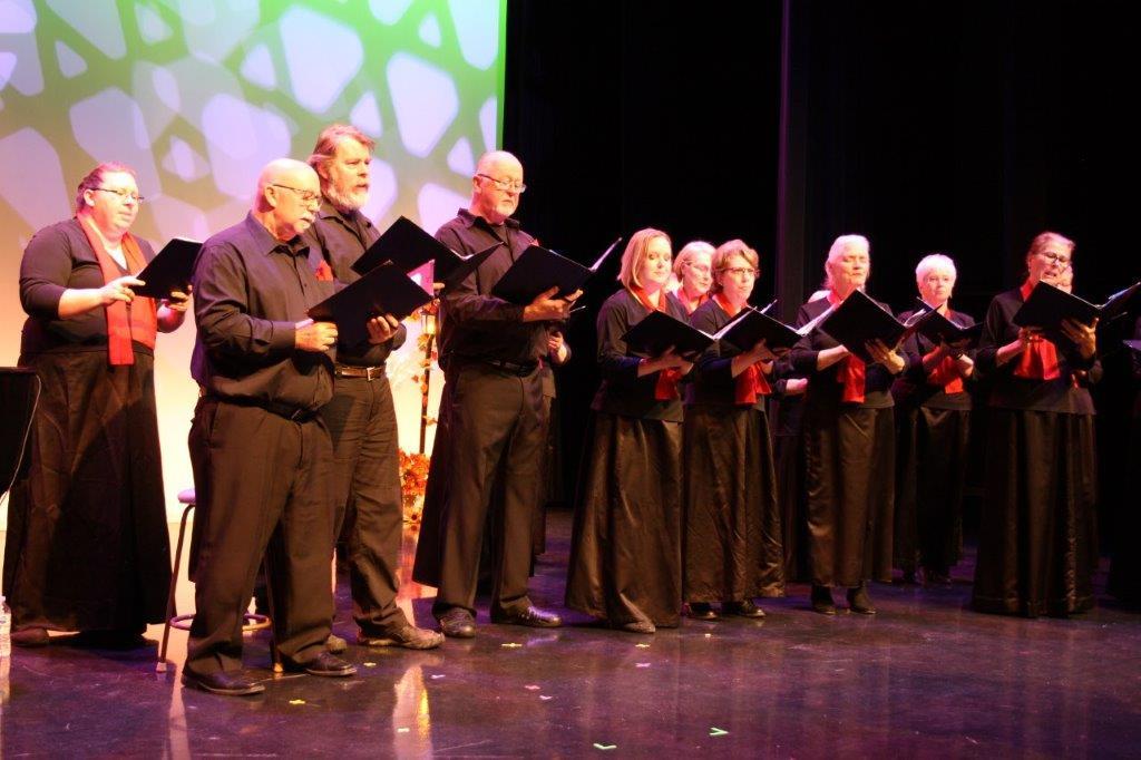 Variety show 2019 men's choir