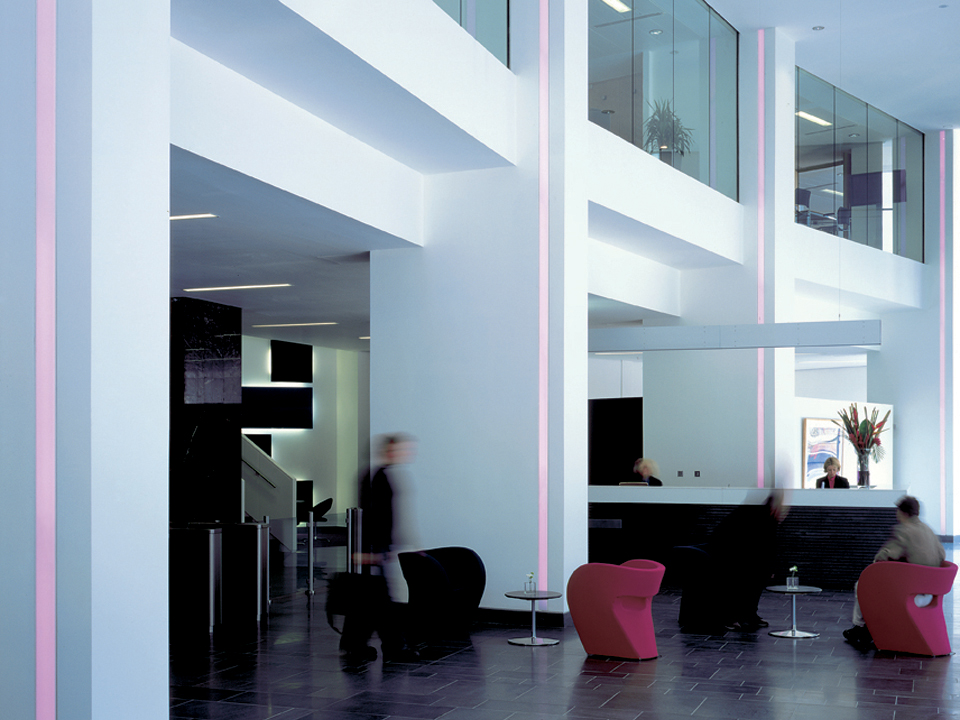 Tower block refurbishment for Land Securities. In association with Wilkinson Eyre and Indigo