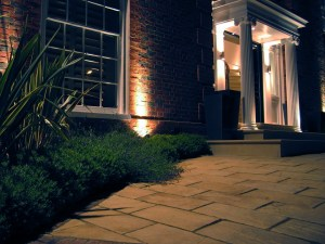 Exterior lighting enhancements for private client