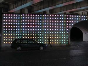 Urban regeneration lighting concepts developed in association with Mindseye
