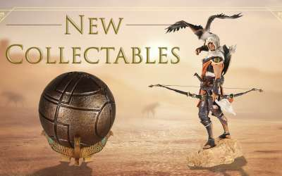 Assassins Creed Origins collectables – more announced