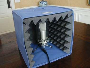 DIY mic booth