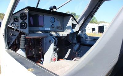 Australian LightWing SP2000 Light Sport Aircraft Cockpit