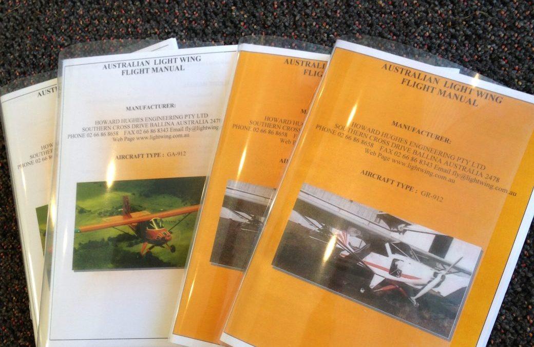 Flight Manual GR 912