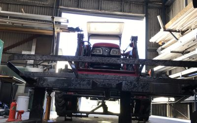 General Engineering: Tractor/Forklift Customised Conversion