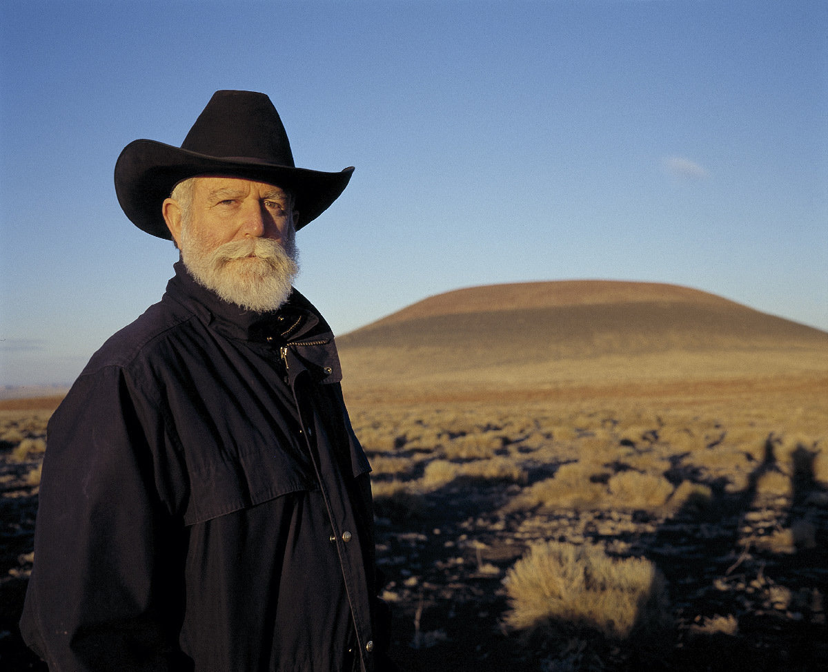 James Turrell et le Roden Crater, Arizona, US © Photo : Florian Holzherr