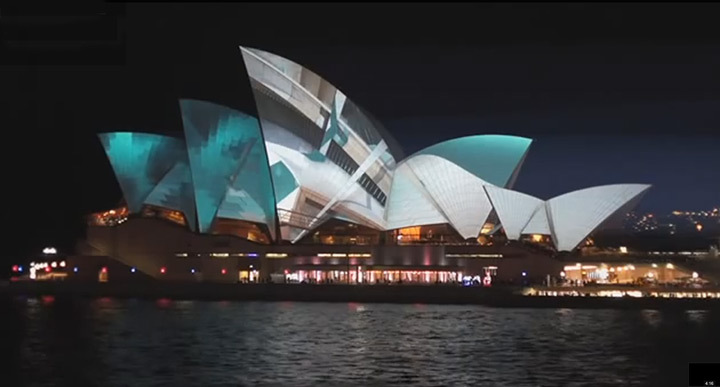 Urbanscreen Light Sydney Opera House