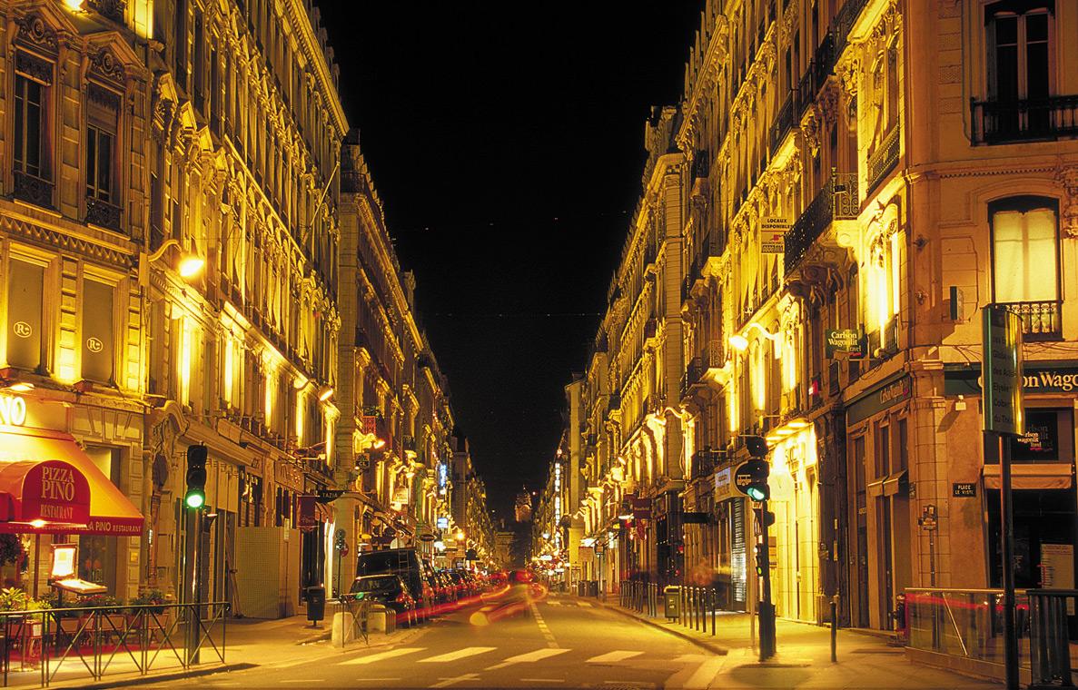 Rue du Président-Edouard Herriot, Lyon, France
