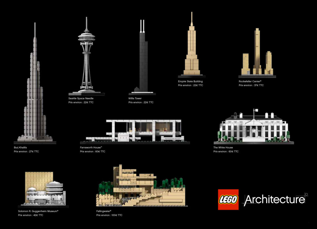 Extrait de la collection : LEGO Architecture