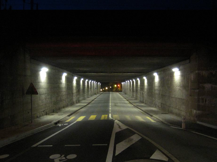 Avant rénovation - Tunnel du pont Noir, Angers, France - Photo : Atelier Emergence