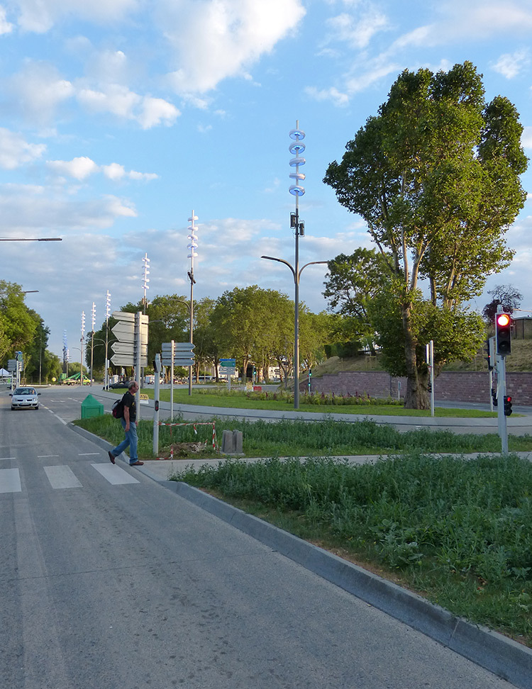 Boulevard vue de jour
