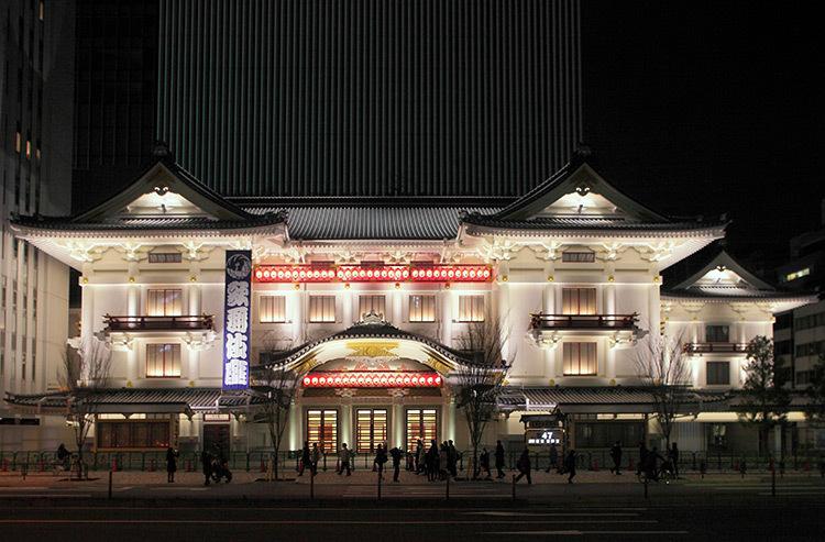 Kabuki Theater, Tokyo, Japon © Motoko Ishii Lighting Design