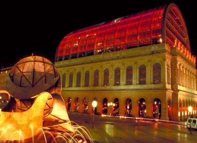 6-Théâtre Temps, Opéra de Lyon, Lyon - Architecte Jean Nouvel - Plasticien Yann Kersalé - Photo Vincent Laganier