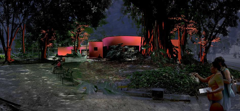 Workshop PMIL, Medellin - Casa de la musica - Illustration : Loeiza Cabaret