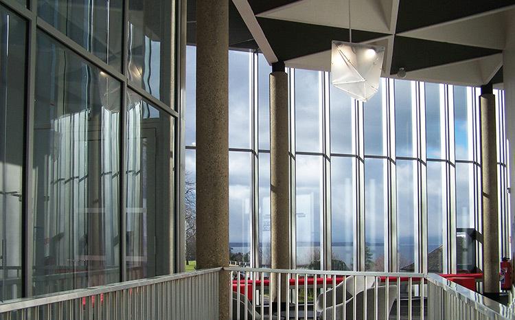 Promenoir - Théâtre Novarina, Thonon-les-Bains, France © WIMM architectes