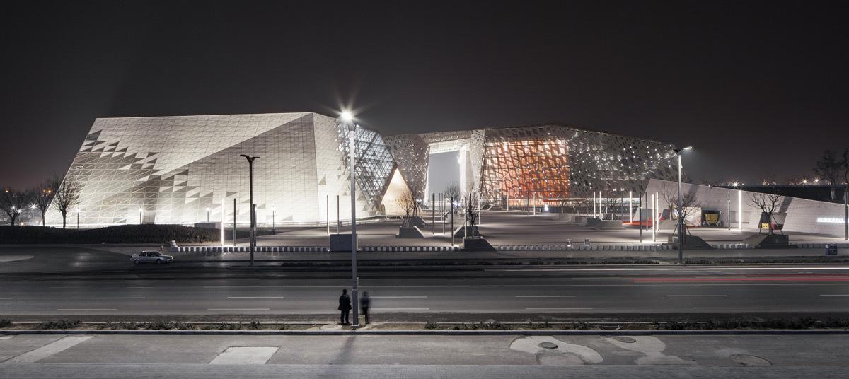 Centre culturel, Jinan, Chine - Architecte Architecture Studio Concepteur lumière 8'18'' - Photo Olivier Marceny