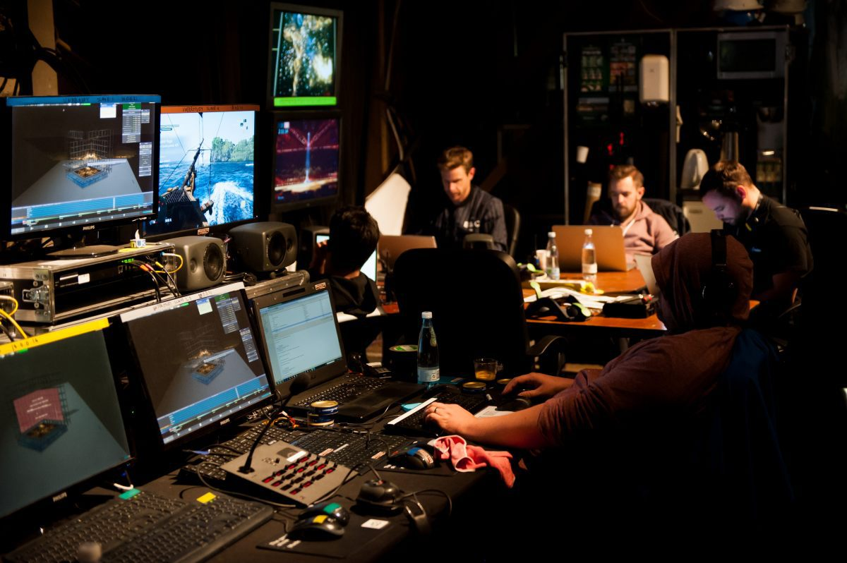 Backstage: Stage of the 2014 Eurovision Song Contest – Copyright Sander Hesterman/EBU