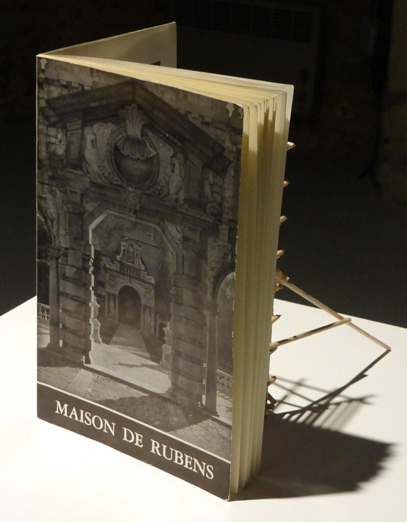 Guillaume Pinard,  La Maison de Rubens, 2013 - Un trou dans le decor - Le Quartier, Quimper, France - Photo Vincent Laganier