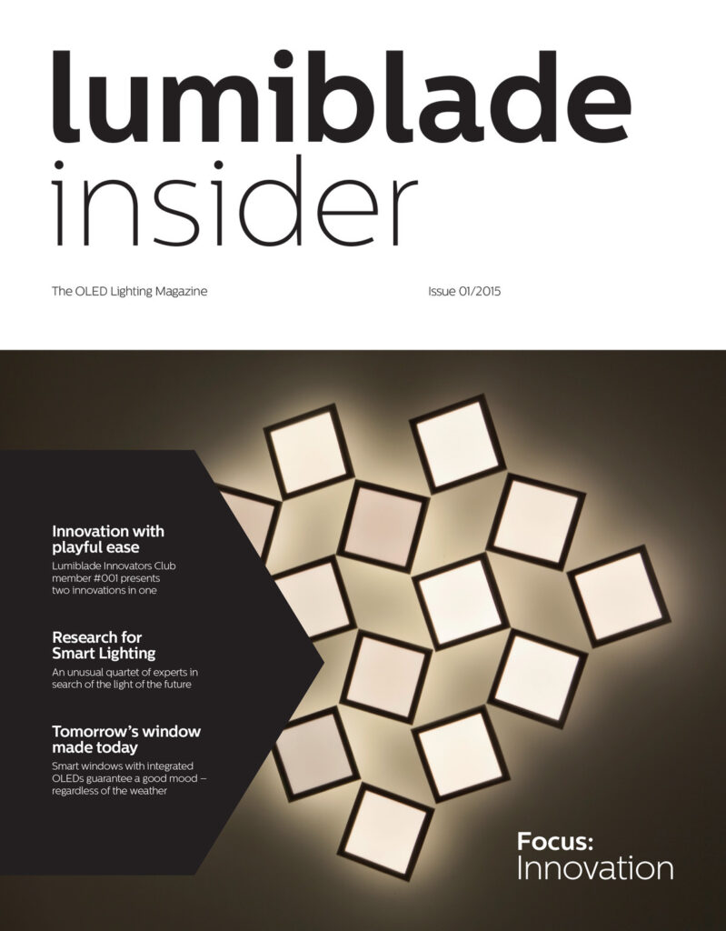 Couverture © Lumiblade insider 01/2015