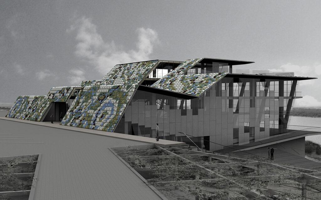 Pavillon Al Zorah, 1er projet, Ajman, UAE - Architectes Annabel Karim Kassar - Conception lumiere et photo Cai Light
