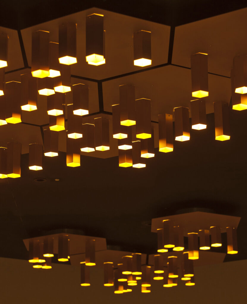 Expo 2015, UK Pavilion, Milan, Italy - Ceiling meeting room - Architectes Copyright BDP