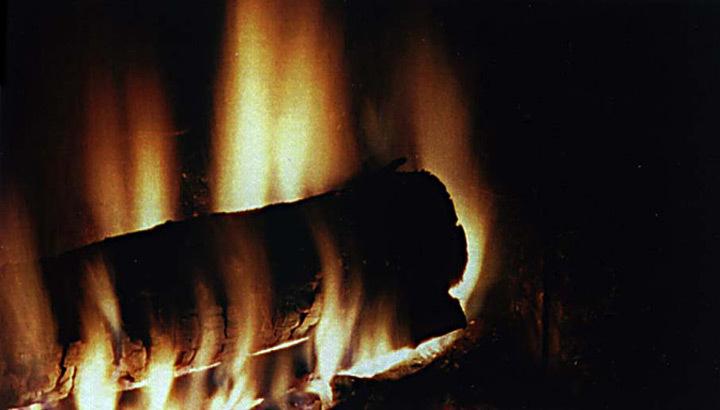 Feu de cheminée - Photo Vincent Laganier