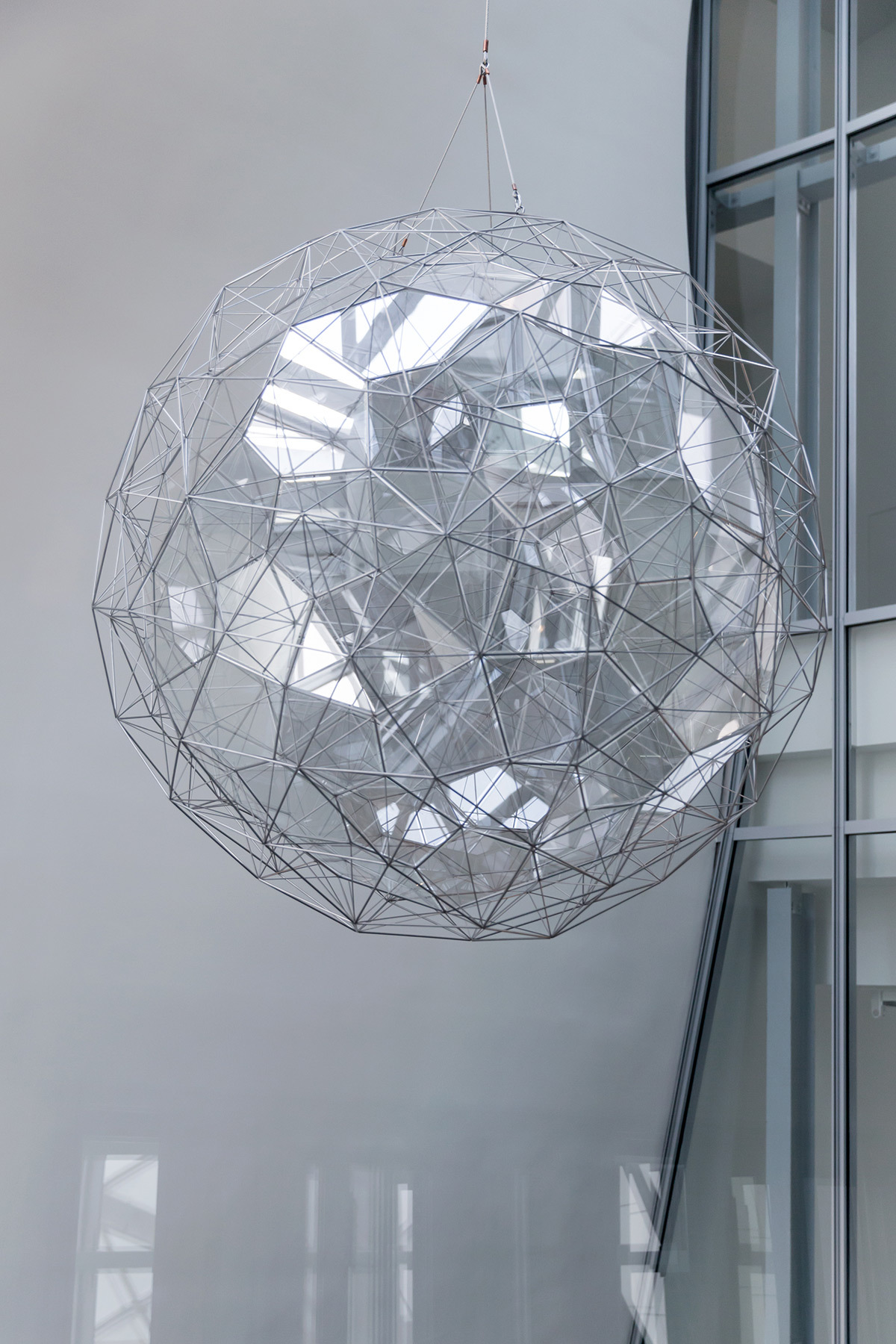 Olafur Eliasson - Dusk particule, 2014 - Fondation-Louis-Vuitton, Paris, France - Photo : Iwan Baan