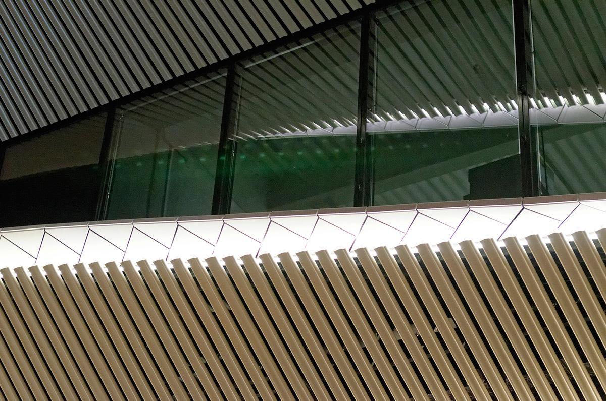 Galeries Lafayette, Centre Bourse, Marseille - Architectes Moatti-Riviere - Concepteur lumière et photo 8'18''