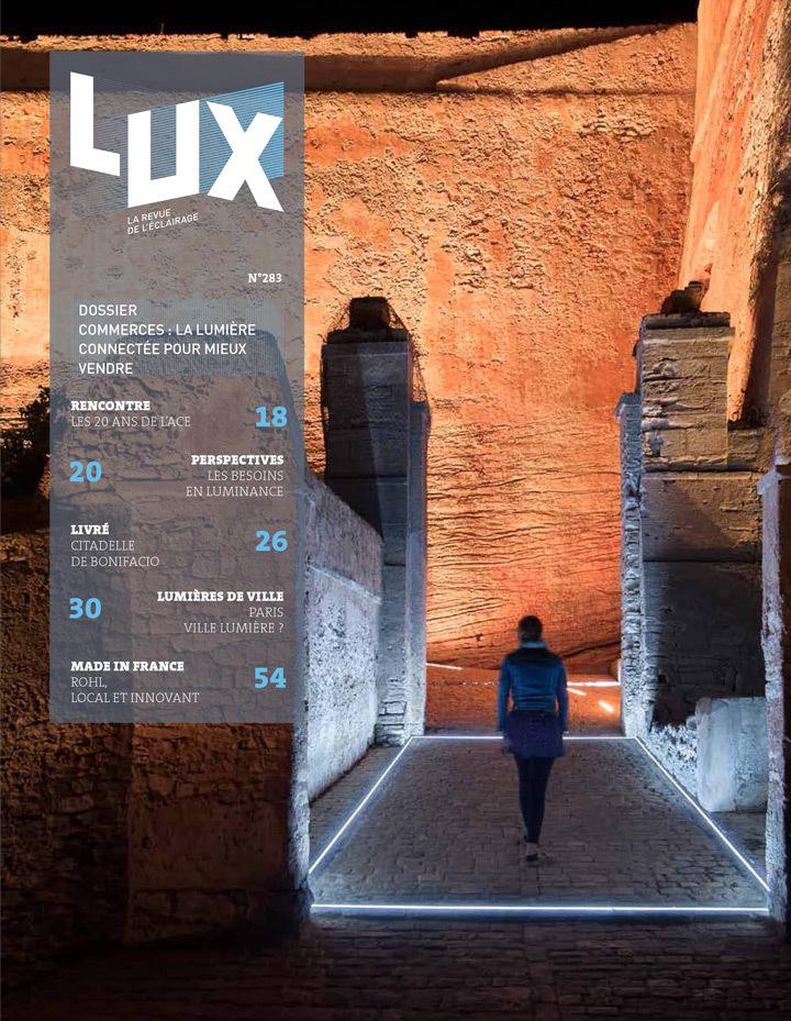 LUX-revue-de-l-eclairage-Septembre-2015-numero-283-couverture